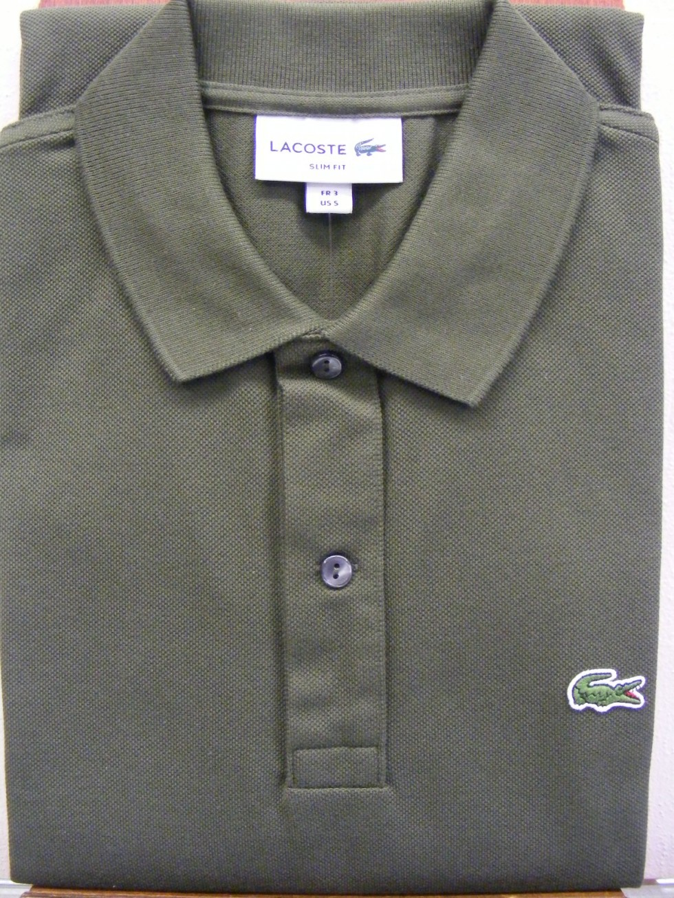 Polo Lacoste slim fit  manica corta uomo PH4012